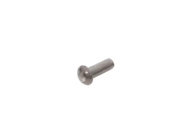 Half-round rivet 3 x 6 aluminium (DIN660) - SR2, SR2E