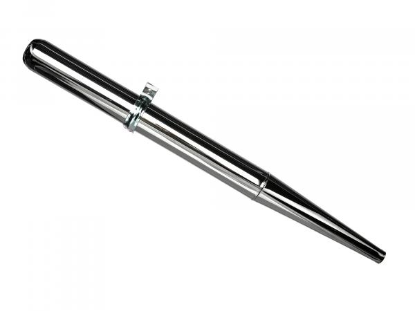 10000206 Auspuff - Tuning 32mm, Originaloptik - Simson S50, S51, S70, KR51/2 Schwalbe, SR50, u.a. - Bild 1