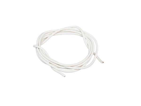 Kabel - Weiß 0,50mm² Fahrzeugleitung - 1m
