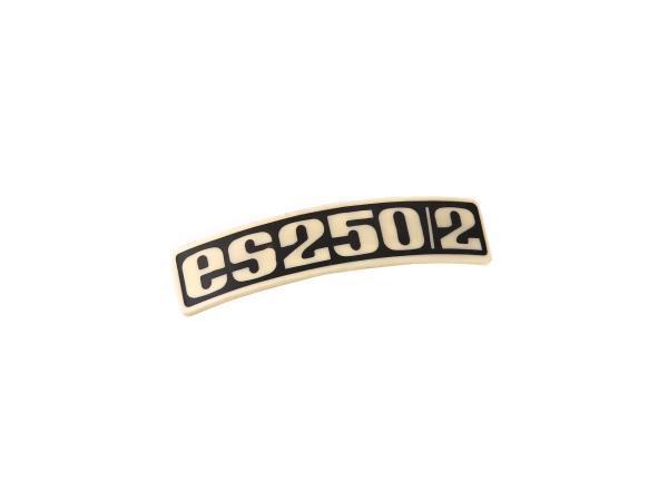 Schriftzug (Plakette aus Kunststoff) ES250/2