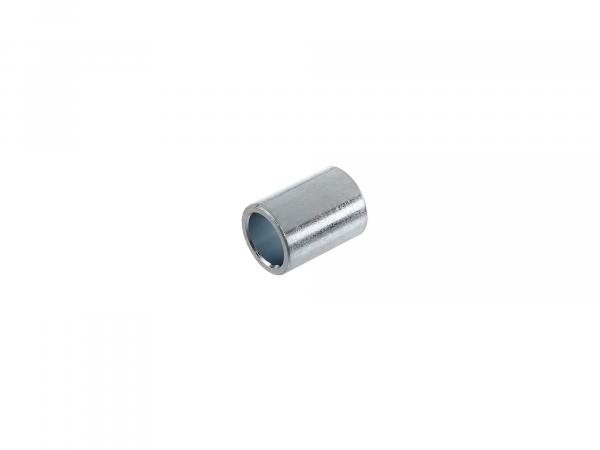 Spacer tube long, sleeve - galvanized - tank mounting - 8,1x11,3x15mm - S50, S51, S70