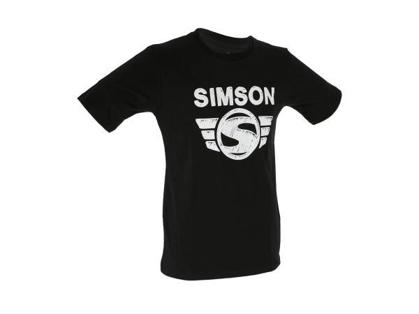 "K10000118 T-Shirt ""SIMSON-Logo"" Schwarz - Bild 1"