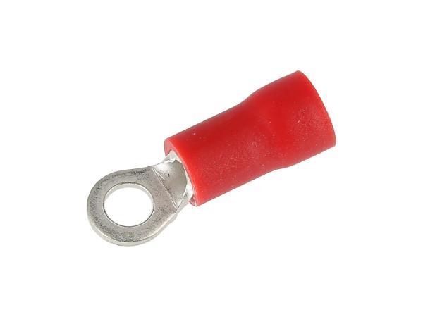 Kabelschuh - Ringzunge ØM3 mit Isolierung (0,5-1,5mm²)