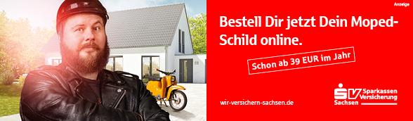 Bestell Dir jetzt Dein Moped-Schild online - ab 39 EUR im Jahr