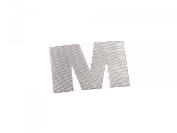 Letter M left for fuel tank ETZ 125,150,251/301