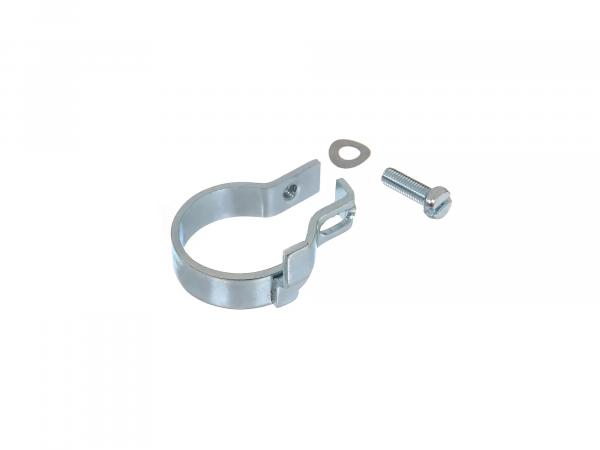 Safety clamp complete for elbow nut, Ø28mm - Simson S50, S51, KR51 Schwalbe, SR50, etc.