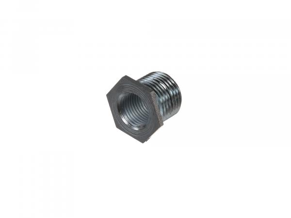 Spark plug thread insert for repair / regeneration