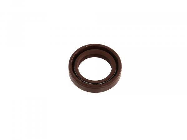 Shaft sealing ring 20x30x07, brown - Simson S50, S51, KR51 Schwalbe - MZ ETZ125, ETZ150