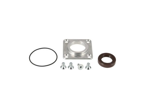 GP10000707 Set: Dichtkappe CNC M500/M700, mit O-Ring 44x1,5, Wellendichtring und Schrauben  - Simson S51, S53, S70, S83, SR50, SR80, KR51/2 - Bild 1