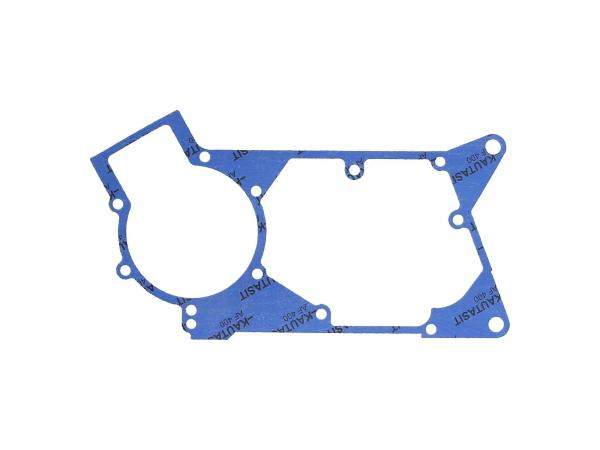 10069348 Motormitteldichtung aus Kautasit 0,5mm stark, Motortyp M500/700 - für Simson S51, SR50, SR80, S53, S70, S83, KR51/2 Schwalbe, DUO 4/2 - Bild 1