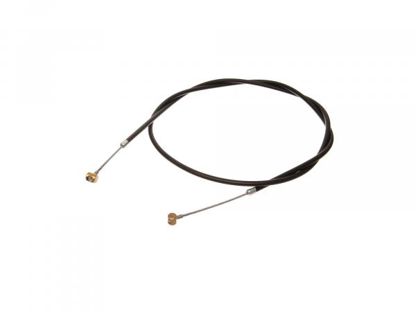 Brake cable front, black - MZ ES125 G (off-road), type 2