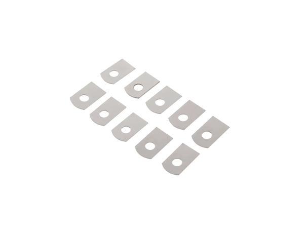 Set: 10x Sicherungsbleche für Deckel vom Kardangehäuse passend für BK350