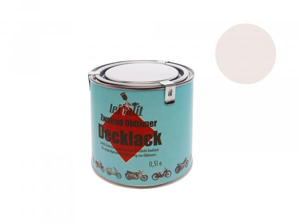 Lackfarbe 2K Leifalit Pastellweiß - 500ml