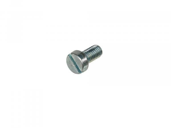 Slotted cheese head screw M6x12 - DIN84