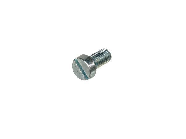 Zylinderschraube, Schlitz M6x12 - DIN84