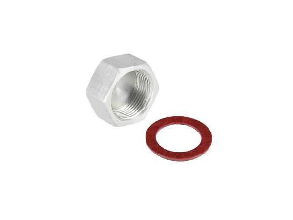 GP10000634 Set: Tank-Verschlussschraube + Fiberdichtring, für Entrostung und Versiegelung - Bild 1