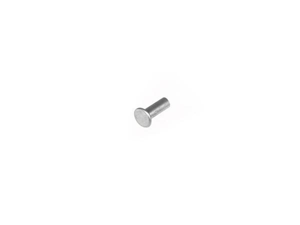 Flat rivet 3x8 DIN 7338- Al
