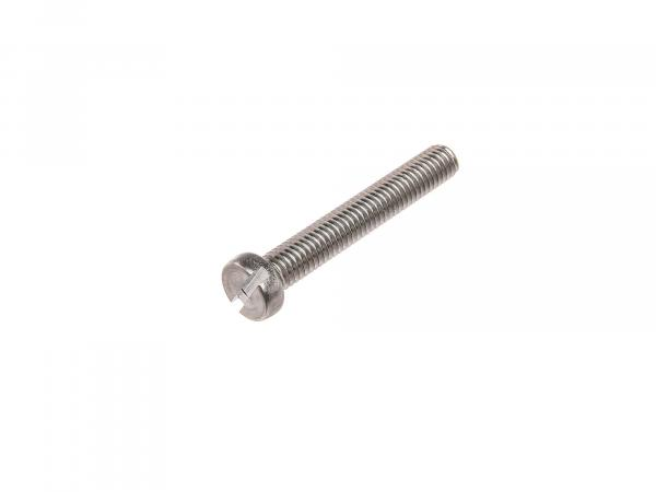 Slotted cheese head screw M6x40 - DIN84