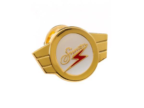 PIN SIMSON Kleinkrafträder, Warenzeichen, Plakette - GOLD