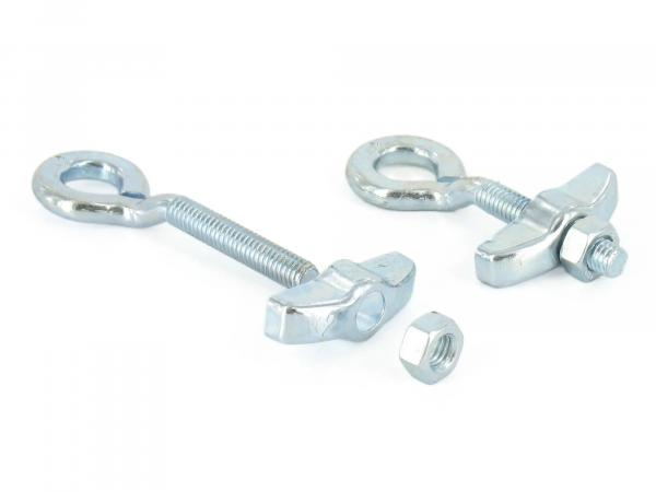 Set: 2 x chain tensioner for 10 axle SR1 - galvanized