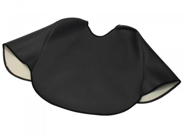 Knee protection blanket black, lined, handmade - for Simson KR51/1 Schwalbe, KR51/2 Schwalbe
