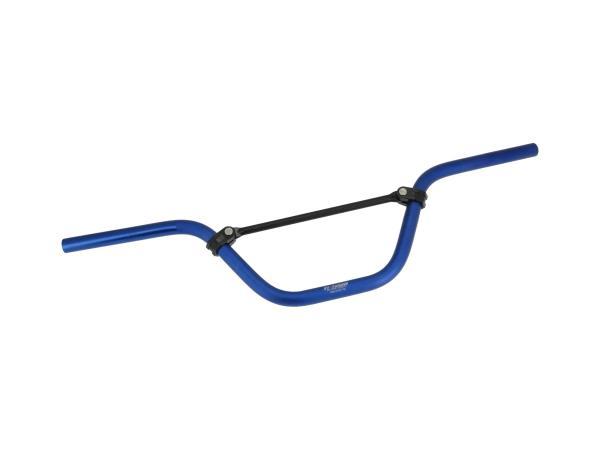 10069437 Crosslenker ZT-Tuning, Blau eloxiert - für Simson S51, S50, S53, S70, S83 - Bild 1