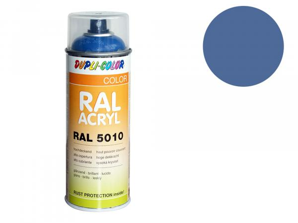 Dupli-Color Acryl-Spray RAL 5014 taubenblau, glänzend - 400 ml