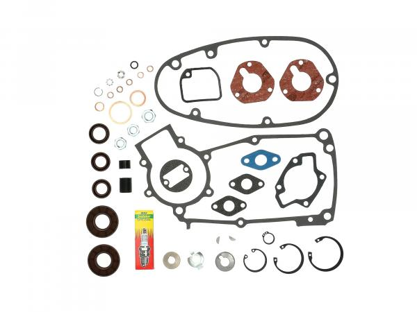 10068873 Set: Dichtungen + Kleinteile für Regeneration Motortyp M53/2 - für Simson Schwalbe KR51/1 - Bild 1