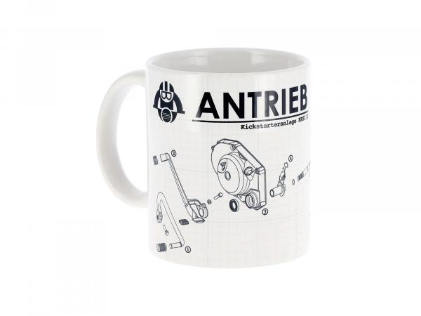 """ANTRIEB Tasse """"Kickstarteranlage KR51/2"""""""