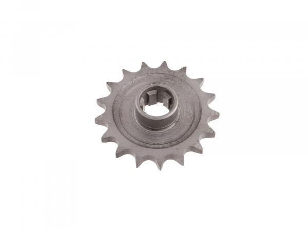 Drive pinion 17 Z - chain wheel - pass.  TS250/1, ETZ