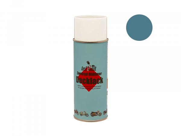 Spray can Leifalit glacier blue top coat - 400ml