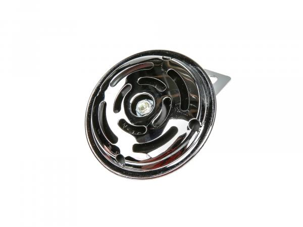Horn 6V with holder in chrome - Simson S50, S51, S70