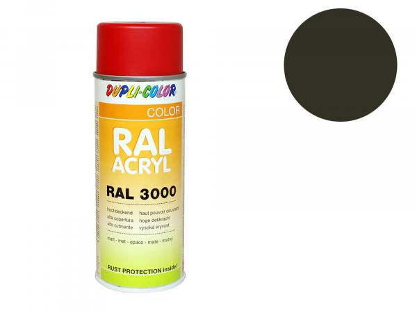 Dupli-Color Acryl-Spray RAL 6014 gelboliv, matt - 400 ml