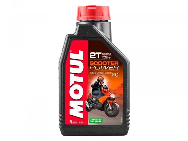 MOTUL Scooter Power 2-Takt Vollsynthetisch  - 1 Liter
