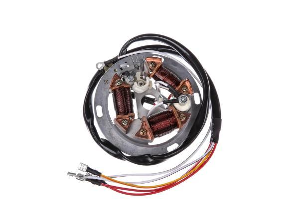 Grundplatte 8307.12-100, 12V Unterbrecher, 35/21W Bilux - für Simson SR50