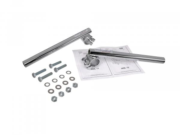 Handlebar end Fehling LSN2, chrome, with parts certificate