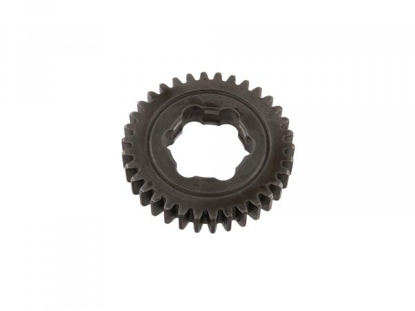 idler 34 tooth, last gear (3-speed & 4-speed engine) - Simson S51, KR51/2 Schwalbe