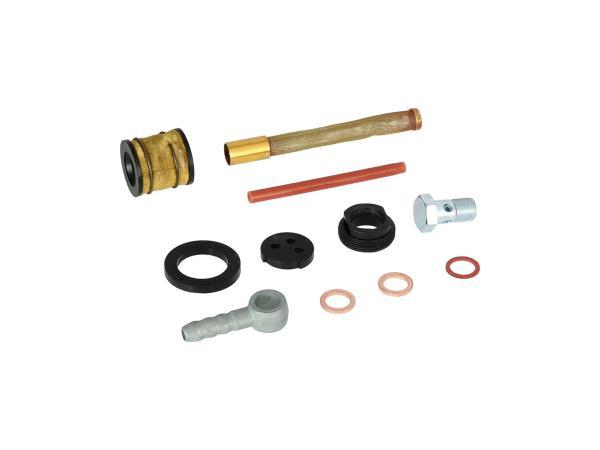 Set: Reparatur für Oldtimer-Benzinhahn - für Simson AWO-Touren, AWO-Sport - MZ BK350, RT125 - IWL SR56 Wiesel, SR59 Berlin, TR150 Troll