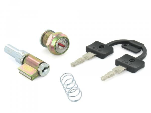 Set: handlebar lock + tool box lock - Simson S51, S70