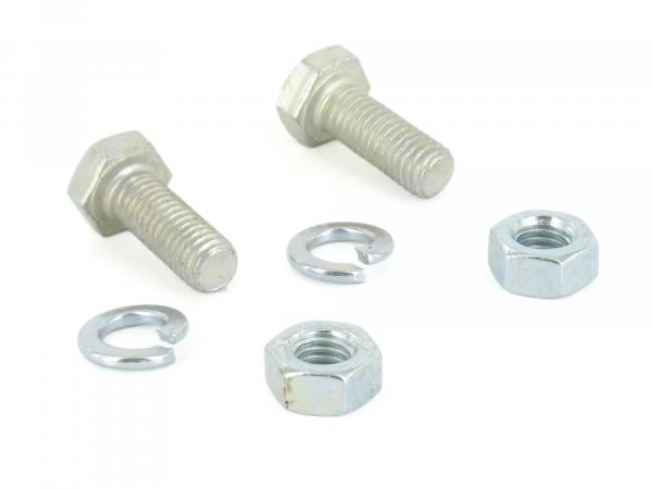 Set: hexagon screws passenger footrests S51, S70, S50, S53, S83