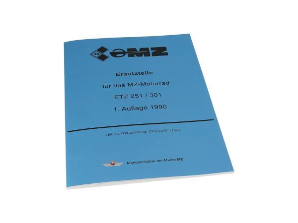 10003658 Ersatzteilkatalog - MZ ETZ 251, 301 - Bild 1