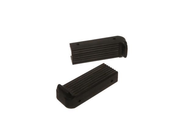 10041123 Set: Fußrastengummi, schwarz - DKW - Bild 1