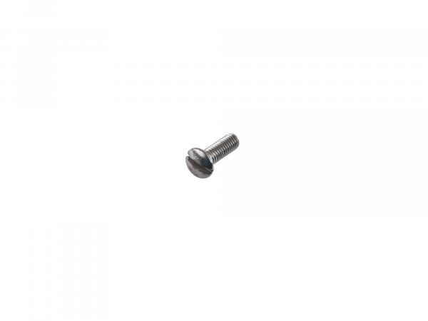 Slotted raised countersunk head screw, stainless steel M3x10 - DIN964