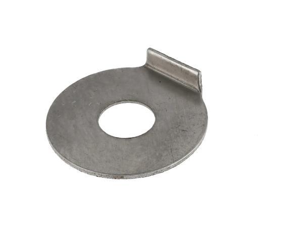 Sicherungsblech für Schaltbügel, für Schaltwelle mit M8 - Simson S50, KR51/1 Schwalbe, SR4-1 Spatz, SR4-2 Star, SR4-3 Sperber, SR4-4 Habicht