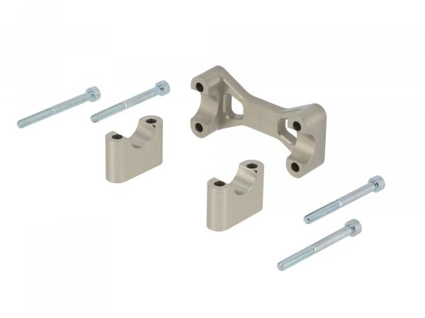 10070560 AKF Tuning-Lenkeraufnahme, Aluminium eloxiert - für Simson S50, S51, S70, Enduro - Bild 1
