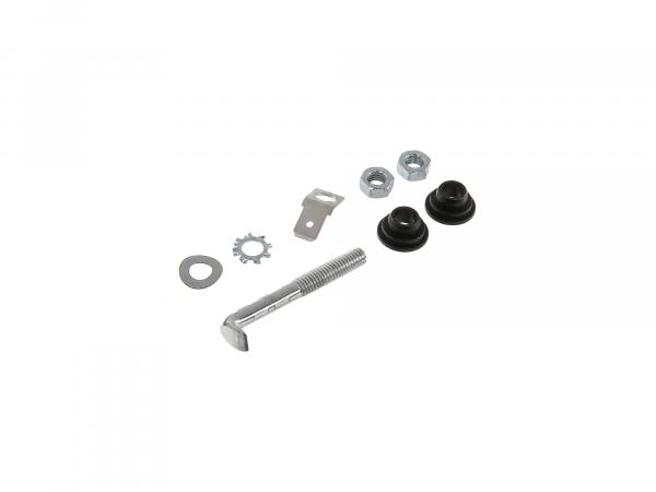 Set: Mounting parts for brake light contact screw - for Simson S50, S51, S70, KR51 Schwalbe, SR4