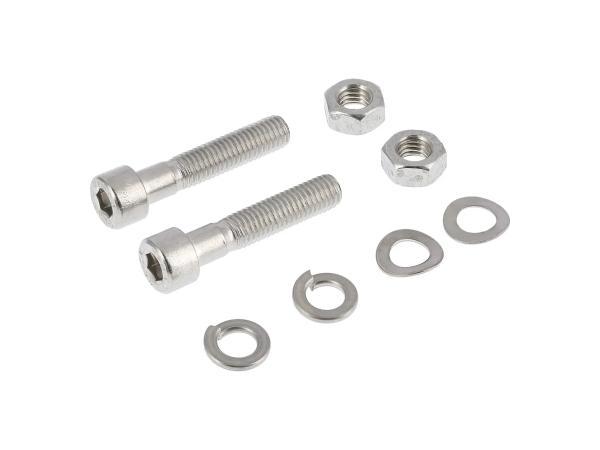 10001237 Set: Zylinderschrauben, Innensechskant in Edelstahl für Kippständer SR50, SR80 - Bild 1
