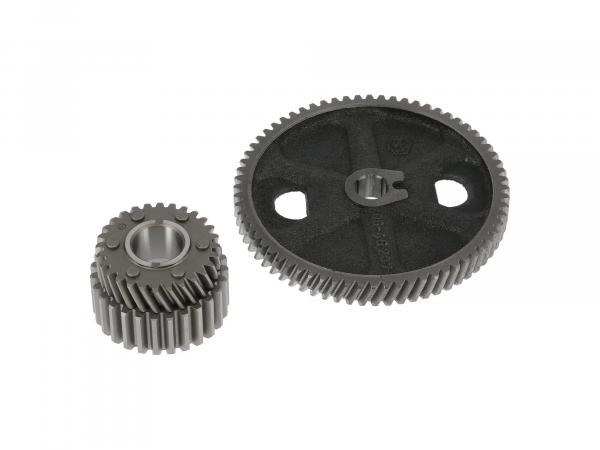 SET: drive wheel to gear + drive wheel with inner driver - TS250/1, ETZ250, ETZ251, ETZ301