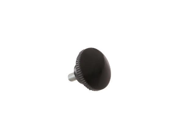 Rändelschraube schwarz ohne Druckscheibe (M6) ES125, ES150, ES175, ES175/1, ES250, ES250/1, ES300