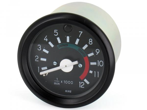 Rev counter with high beam control up to 12000 rpm